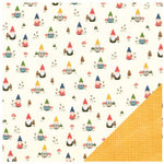 Pebbles - Homegrown Collection - 12 x 12 Double Sided Paper - Front Yard