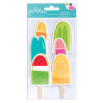 Pebbles - Fun In The Sun Collection - Popsicle Cards
