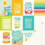 Pebbles - Fun In The Sun Collection - 12 x 12 Double Sided Paper - Summer Days
