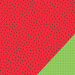 Pebbles - Fun In The Sun Collection - 12 x 12 Double Sided Paper - Watermelon