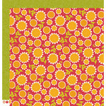 Pebbles - Harvest Collection - 12 x 12 Double Sided Paper - Sunflowers