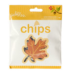 Pebbles - Harvest Collection - Chips - Die Cut Chipboard and Vellum