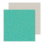 Pebbles - Patio Party Collection - 12 x 12 Double Sided Paper - Glow