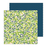 Pebbles - Patio Party Collection - 12 x 12 Double Sided Paper - Shady Spot