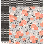 Pebbles - DIY Home Collection - 12 x 12 Double Sided Paper - Blossoms