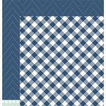 Pebbles - DIY Home Collection - 12 x 12 Double Sided Paper - Buffalo Check