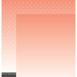 Pebbles - DIY Home Collection - 12 x 12 Double Sided Paper - Sunset