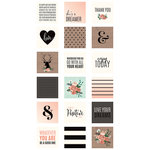 Pebbles - DIY Home Collection - MINC - 3 x 3 Cards