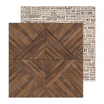 Pebbles - Patio Party Collection - 12 x 12 Double Sided Paper - Panels