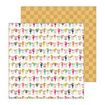 Pebbles - Patio Party Collection - 12 x 12 Double Sided Paper - Mocktails