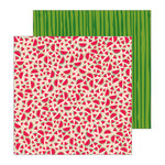 Pebbles - Patio Party Collection - 12 x 12 Double Sided Paper - Slices