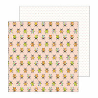 Pebbles - Patio Party Collection - 12 x 12 Double Sided Paper - Painted Beetles