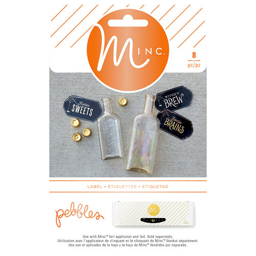 Heidi Swapp - MINC Collection - Halloween - Cardstock Stickers - Labels
