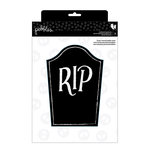 Pebbles - Boo Collection - Halloween - Chalkboard Headstones