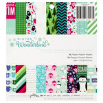 Pebbles - Winter Wonderland Collection - Christmas - 6 x 6 Paper Pad