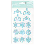 Pebbles - Winter Wonderland Collection - Christmas - Puffy Stickers