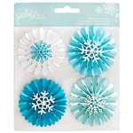 Pebbles - Winter Wonderland Collection - Christmas - Rosettes