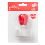 Pebbles - Be Mine Collection - Self-Inking Stamp - Heart