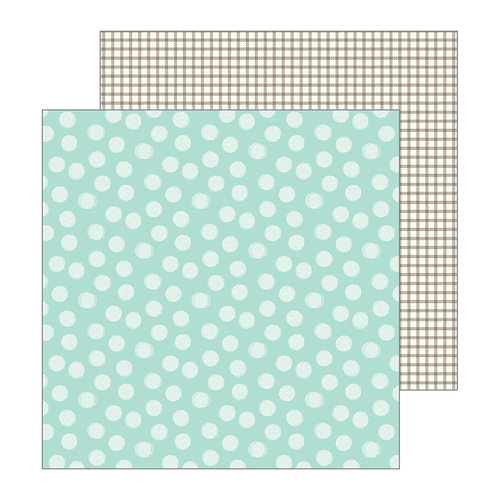 Pebbles - Patio Party Collection - 12 x 12 Double Sided Paper - Breezy