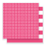 Pebbles - Everyday Collection - 12 x 12 Double Sided Paper - Trellis