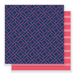 Pebbles - Everyday Collection - 12 x 12 Double Sided Paper - Interlocked