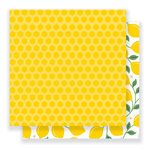 Pebbles - Everyday Collection - 12 x 12 Double Sided Paper - Honeycomb
