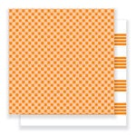 Pebbles - Everyday Collection - 12 x 12 Double Sided Paper - Citrus