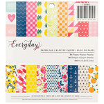 Pebbles - Everyday Collection - 6 x 6 Paper Pad