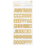 Pebbles - Everyday Collection - Thickers - Foil - Ella - Gold
