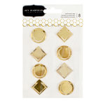 Pebbles - Everyday Collection - Metal Clips - Gold