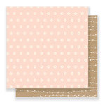 Pebbles - Spring Fling Collection - 12 x 12 Double Sided Paper - Scattered Daisies