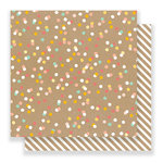 Pebbles - Spring Fling Collection - 12 x 12 Double Sided Paper - Party Time