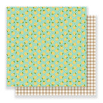 Pebbles - Spring Fling Collection - 12 x 12 Double Sided Paper - Blossoms