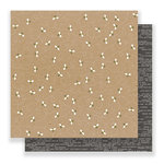 Pebbles - Spring Fling Collection - 12 x 12 Double Sided Paper - Honey Bee