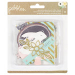 Pebbles - Spring Fling Collection - Ephemera with Foil Accents