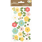 Pebbles - Spring Fling Collection - Puffy Stickers - Flowers