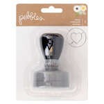 Pebbles - Spring Fling Collection - Self-Inking Stamp - Heart