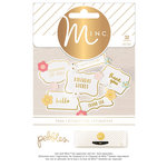 Heidi Swapp - Pebbles - MINC Collection - Spring Fling - Cardstock Stickers - Tags