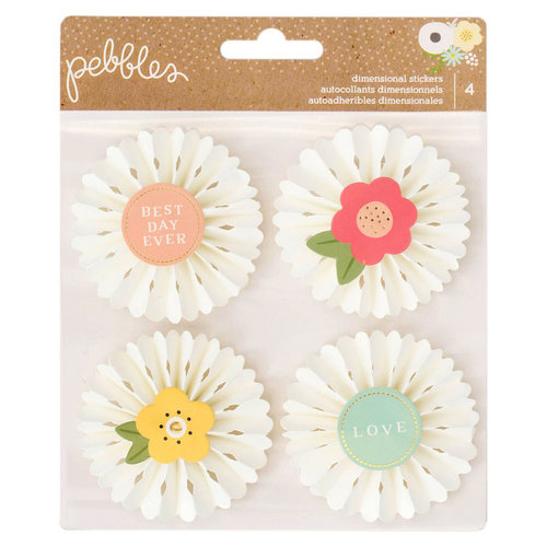 Pebbles - Spring Fling Collection - Rosettes