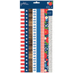 Pebbles - America the Beautiful Collection - Washi Tape Book
