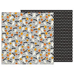 Pebbles - Trick or Treat Collection - Halloween - 12 x 12 Double Sided Paper - Hocus Pocus