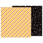 Pebbles - Trick or Treat Collection - Halloween - 12 x 12 Double Sided Paper - Moonlight