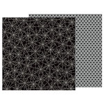 Pebbles - Trick or Treat Collection - Halloween - 12 x 12 Double Sided Paper - Spider Web