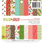 Pebbles - Holly Jolly Collection - Christmas - 6 x 6 Paper Pad