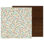 Pebbles - Warm and Cozy Collection - 12 x 12 Double Sided Paper - Sprigs