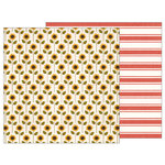 Pebbles - Warm and Cozy Collection - 12 x 12 Double Sided Paper - Sunflower Days