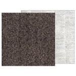 Pebbles - Warm and Cozy Collection - 12 x 12 Double Sided Paper - Tweed