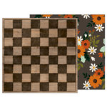 Pebbles - Warm and Cozy Collection - 12 x 12 Double Sided Paper - Checkerboard