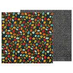 Pebbles - Warm and Cozy Collection - 12 x 12 Double Sided Paper - Fall Day