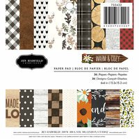 Jen Hadfield - Warm and Cozy Collection - 6 x 6 Paper Pad